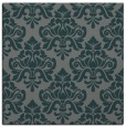 rug #295913 | square blue-green popular rug