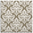rug #295925 | square white damask rug