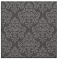 rug #295933 | square brown damask rug