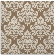rug #295937 | square mid-brown rug