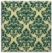 rug #295989 | square yellow damask rug