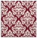 rug #295997 | square pink traditional rug
