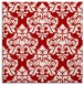 rug #296025 | square red traditional rug