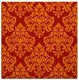 rug #296029 | square red traditional rug