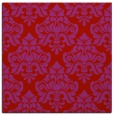 rug #296037 | square red traditional rug