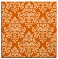 rug #296045 | square red-orange traditional rug
