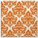rug #296053 | square red-orange traditional rug