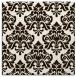 rug #296081   square brown damask rug