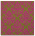 rug #296113 | square light-green traditional rug