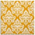 rug #296121 | square light-orange damask rug
