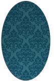 rug #296186 | oval traditional rug