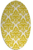rug #296413 | oval white traditional rug