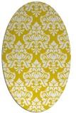 rug #296437   oval white traditional rug