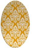 rug #296473   oval light-orange traditional rug