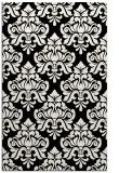 rug #296493 |  white damask rug