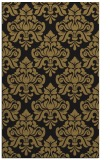 rug #296509 |  mid-brown damask rug