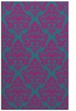 rug #296553 |  blue-green traditional rug
