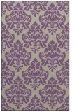 rug #296669 |  purple rug