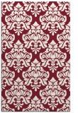 rug #296701 |  pink damask rug