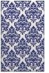 rug #296769 |  blue damask rug