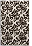 rug #296785 |  brown traditional rug