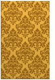 rug #296793 |  yellow damask rug