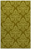 rug #296809 |  light-green damask rug