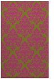 rug #296817 |  light-green damask rug