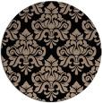 rug #296853   round beige damask rug