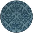 rug #296868 | round damask rug