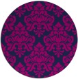 rug #296869   round blue traditional rug