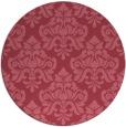 rug #296935 | round damask rug
