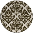 rug #296996 | round traditional rug
