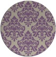 rug #297021 | round purple traditional rug