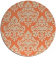 rug #297037 | round beige traditional rug