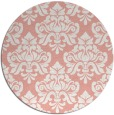 rug #297061 | round pink traditional rug