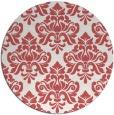 rug #297064 | round damask rug