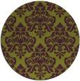 rug #297070 | round damask rug