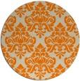 rug #297157 | round beige damask rug