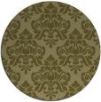 rug #297174   round damask rug