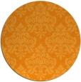 rug #297185   round light-orange traditional rug