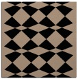rug #297557 | square beige graphic rug