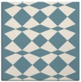 rug #297569 | square white check rug
