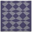 rug #297633   square blue-violet check rug
