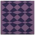 rug #297641 | square purple check rug