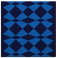 rug #297713 | square blue check rug