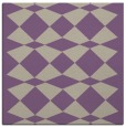 rug #297725 | square purple check rug