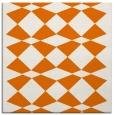 rug #297737 | square orange graphic rug