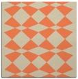 rug #297741 | square orange graphic rug