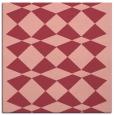 rug #297761   square pink check rug